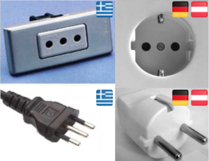 Steckdosen Stecker Griechenland Deutschland Vergleich