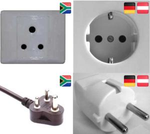 Steckdosen Stecker Südafrika Deutschland Vergleich