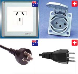 Schweiz Australien Steckdose