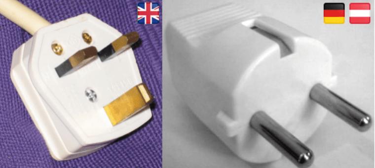 Steckdosen England Vereinigtes Königreich UK Vergleich